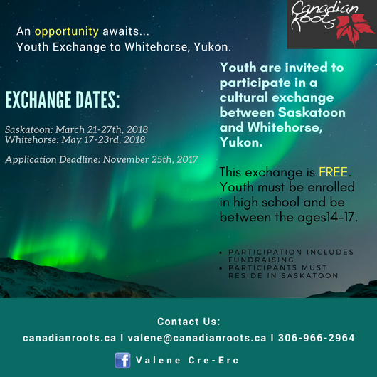 For Saskatoon Participants