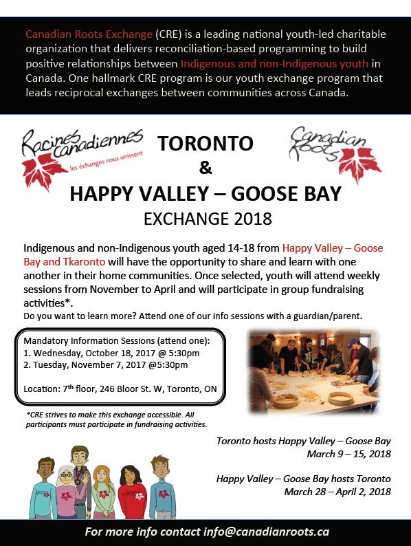 Toronto-Happy Valley Goose Bay 2018 poster