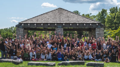 group photo of 2019 Youth Reconciliation Leaders